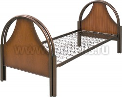 """Кровать детская металлическая """"Студент"""" (сварная сетка)."""
