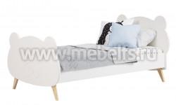 Детская кровать мишка №27 80х180 из массива