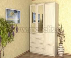 Шкаф для одежды 1200 с ящиками (ДМ).