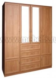 Шкаф для одежды 1600 с ящиками (О).