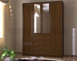Шкаф для одежды 1600 с ящиками (ОЭ).