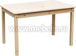 Обеденный стол из сосны (800x800мм).
