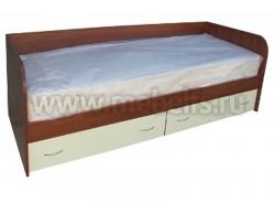 Кровать тахта односпальная с ящиками (ЯВ).
