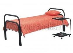 """Кровать металлическая односпальная """"Гармония"""" (сварная сетка)."""