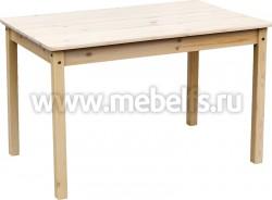 Обеденный стол из сосны (800x1000мм).
