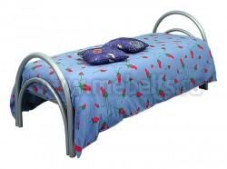 """Кровать односпальная металлическая """"Грация"""" (сварная сетка)."""