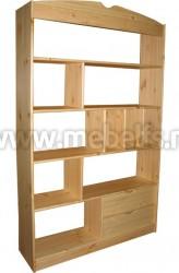 Стеллаж для дома с выдвижными ящиками (С-1250).