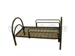 """Кровать односпальная на металлокаркасе """"Детская"""" 74х160см."""
