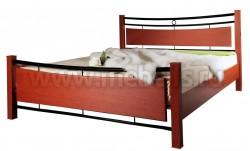 Двуспальная кровать жк8.2.23(160х200).