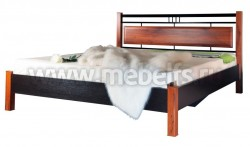 Двуспальная кровать мк28.22.1(160х200).