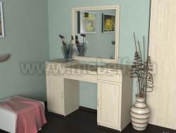 Стол туалетный с зеркалом №2