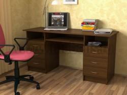 Стол письменный двухтумбовый для школьника