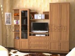 Мебельная стенка Лагуна для гостиной.