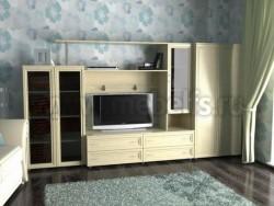 Мебельная стенка Соната-2 (шкаф 800) для гостиной.