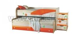 Двухъярусная кровать для детей ИЗД№36 (ДБО).