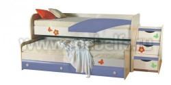 Двухъярусная кровать для детей ИЗД№36 (ДБС).