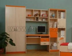 Детская комната мебель НМЖК 4.5.М.1 (ДБО).