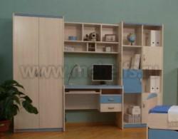 Детская комната мебель НМЖК 4.5.М.1 (ДБС).