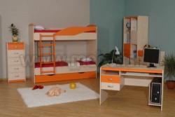 Детская комната мебель НМЖК 4.5.М.3 (ДБО).