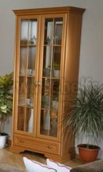 Шкаф книжный со стеклянными дверцами ИЗД№01.