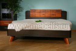 Двуспальная кровать ИЗД№18 (МК№28) (160х200).