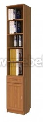 Книжный комбинированный шкаф арт.106