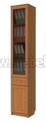Шкаф книжный стеклянный одностворчатый (арт.206)