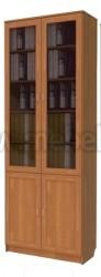 Книжный шкаф со стеклом двустворчатый арт.202