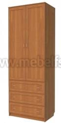 Шкаф для одежды с ящиками арт.315