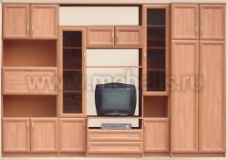 Мебельная стенка Коралл для гостиной.