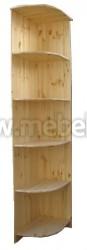 Угловая секция к шкафу Герман (400) из массива сосны.