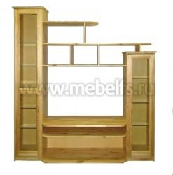 Мебельная стенка 2-а столба из массива сосны.