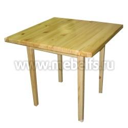 Стол обеденный 80х80см из массива дерева