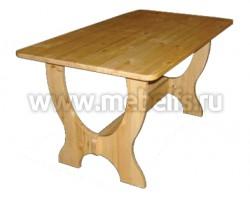 Обеденный стол Омега 1400 из массива сосны