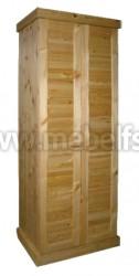 Шкаф для одежды Скандинавия из массива сосны.