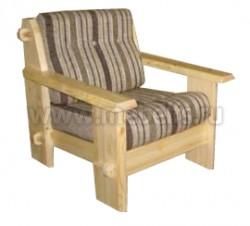 Кресло Скандинавия из массива сосны.