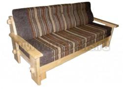 Трехместный диван кровать Скандинавия из массива сосны