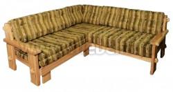 Диван-кровать угловой Скандинавия из массива сосны.