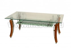 Стол журнальный стеклянный B-3082