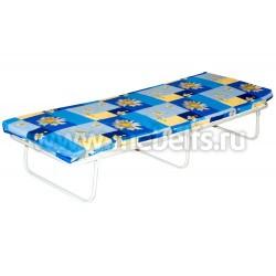 Раскладушка, кровать-раскладушка с ламелями  КР-2ЛСП (70х200).