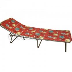 Раскладушка, кровать-раскладушка с матрасом С886 (поролон лист).