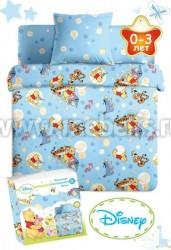 Детское постельное белье в кроватку Дисней Бэби (арт.3432Г).