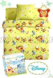 Детское постельное белье в кроватку Disney Бэби (арт.3432Ж).