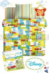 Постельное белье для новорожденных Дисней Бэби (арт.3434).