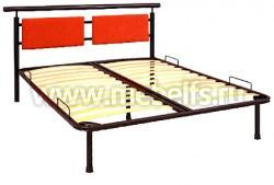 """Двуспальная кровать металлическая """"Мария"""" 160х200мм."""