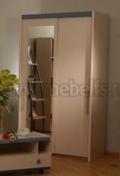 Шкаф-купе для детской (без зеркала) ИЗД№01 (МК№26).