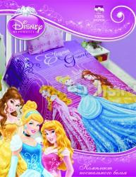 Детское постельное белье из хлопка Принцессы в замке.