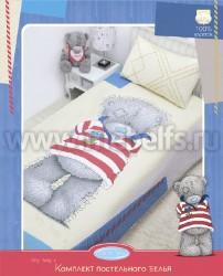 Детское постельное белье Taddy морячек (арт.521404).