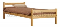Кровать односпальная деревянная Классика (70х160см).