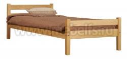Кровать односпальная деревянная Классика (70х190см).